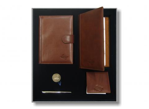 Набор ежедневник с ручкой